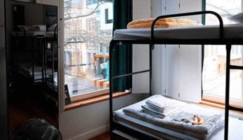 Bunk bed covered by shared renters insurance policy